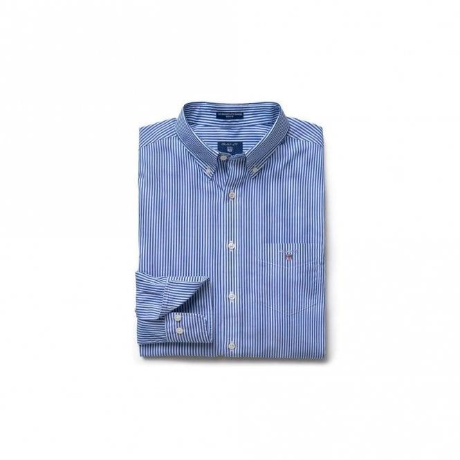 Gant The Broadcloth Banker Reg Bd - Yale blue
