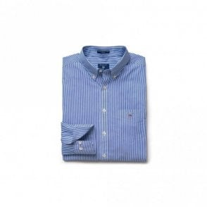 The Broadcloth Banker Reg Bd - Yale blue