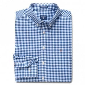 The Broadcloth Gingham - Blue Check
