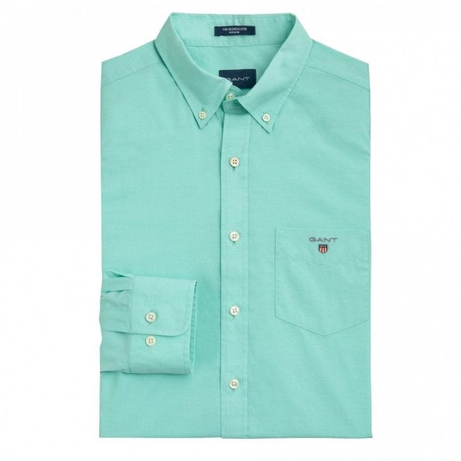 Gant The Broadcloth shirt - Mint