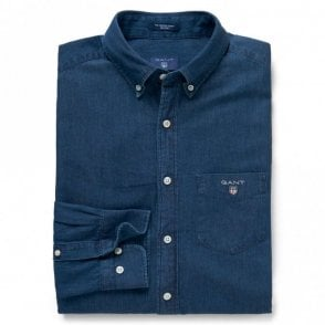 The Indigo Shirt - Dark Indigo