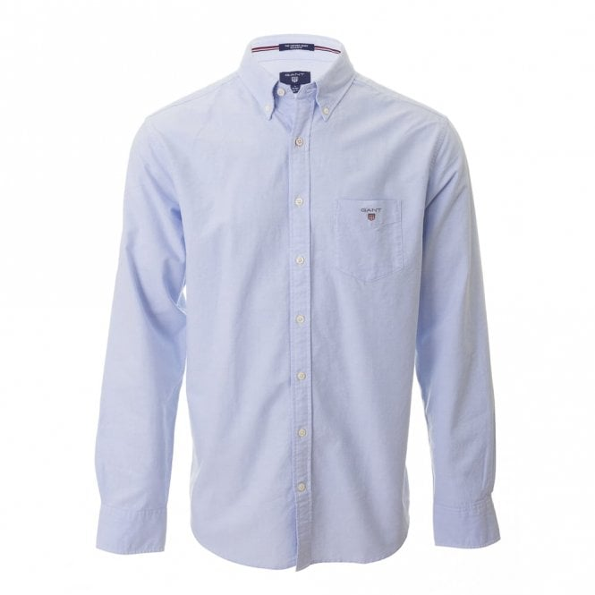 Gant The Oxford Shirt Ls Bd - Blue