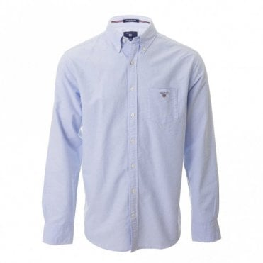 The Oxford Shirt Ls Bd - Blue
