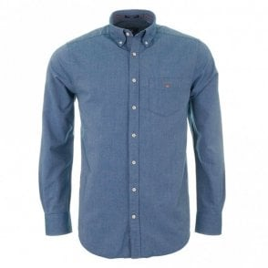 The Oxford Shirt plain - Navy