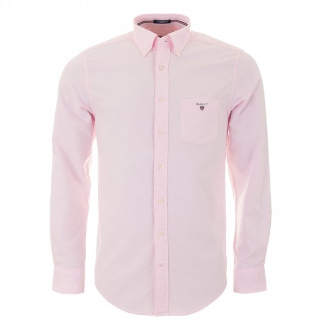 Gant The Oxford Shirt Plain - Pink