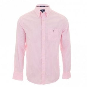 The Poplin Banker Stripe - Pink Stripe