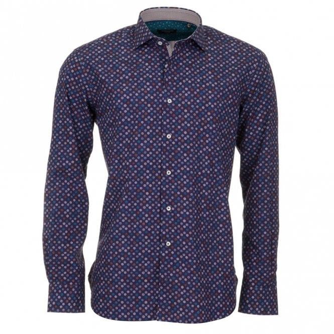 Giordano Blue Radial Shirt