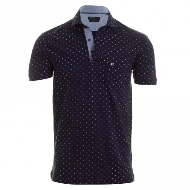 Giordano Massimo Polo Shirt - Navy Spot