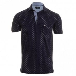 Massimo Polo Shirt - Navy Spot