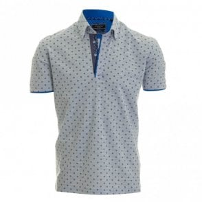 Simon Pique Polo Shirt - Blue