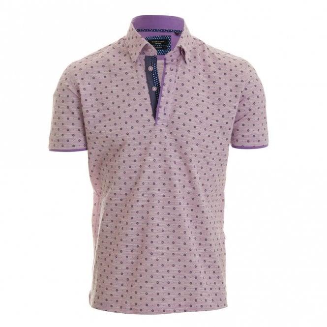 Giordano Simon Pique Polo Shirt - Lylac