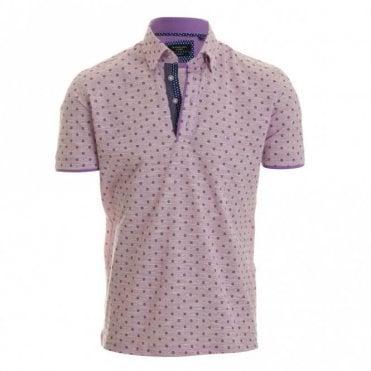 Simon Pique Polo Shirt - Lylac
