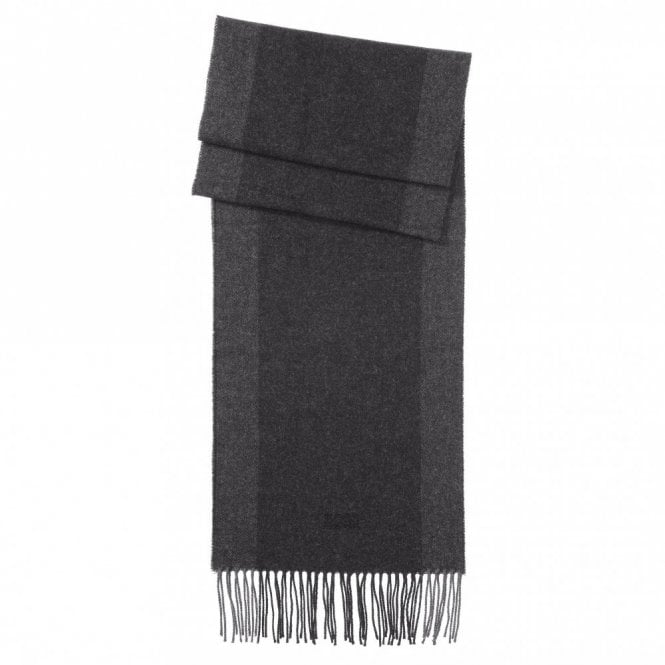 Hugo Boss Albarello Wool Cashmere Scarf - Grey