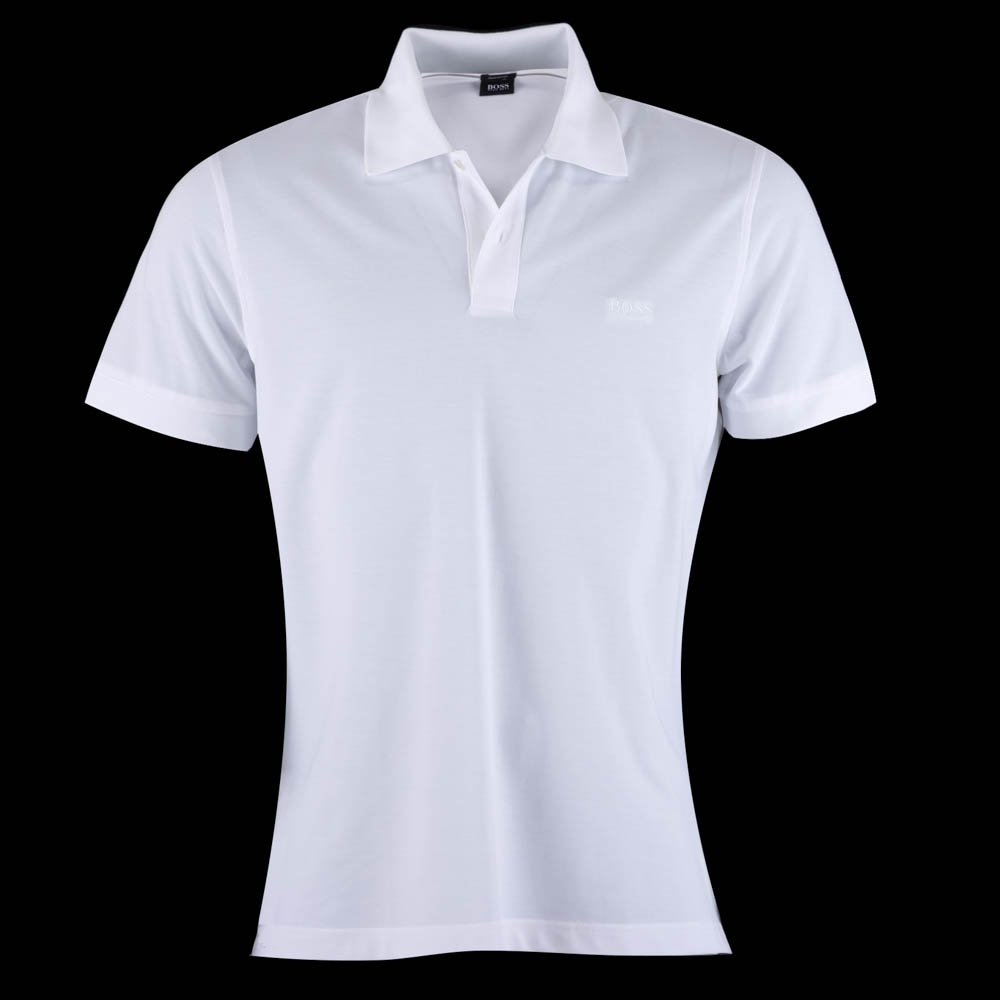 hugo boss firenze white polo shirt hugo boss from. Black Bedroom Furniture Sets. Home Design Ideas