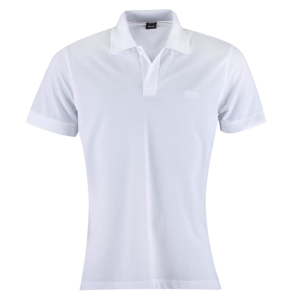 hugo boss firenze white polo shirt hugo boss from charles hobson uk. Black Bedroom Furniture Sets. Home Design Ideas