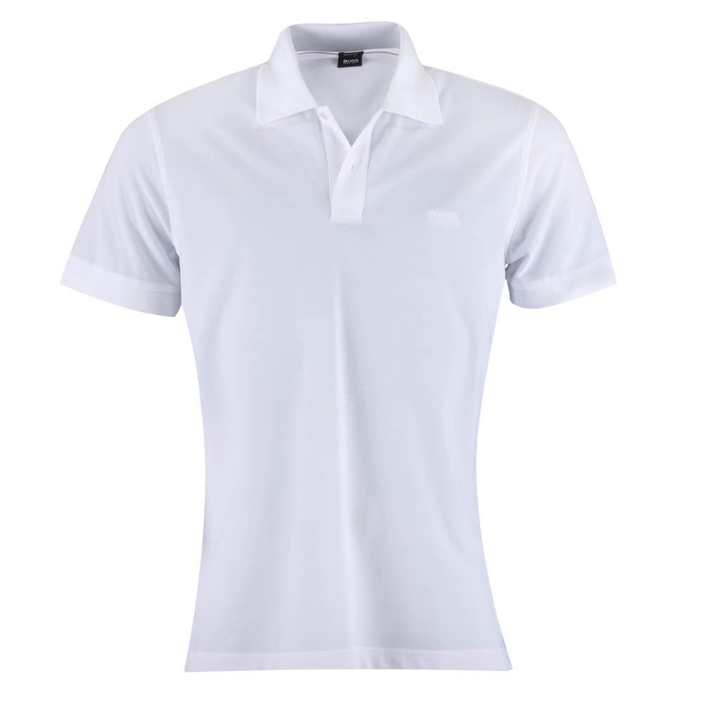 caffbf2d Firenze White Polo Shirt - Mens from Charles Hobson of Easingwold LTD UK