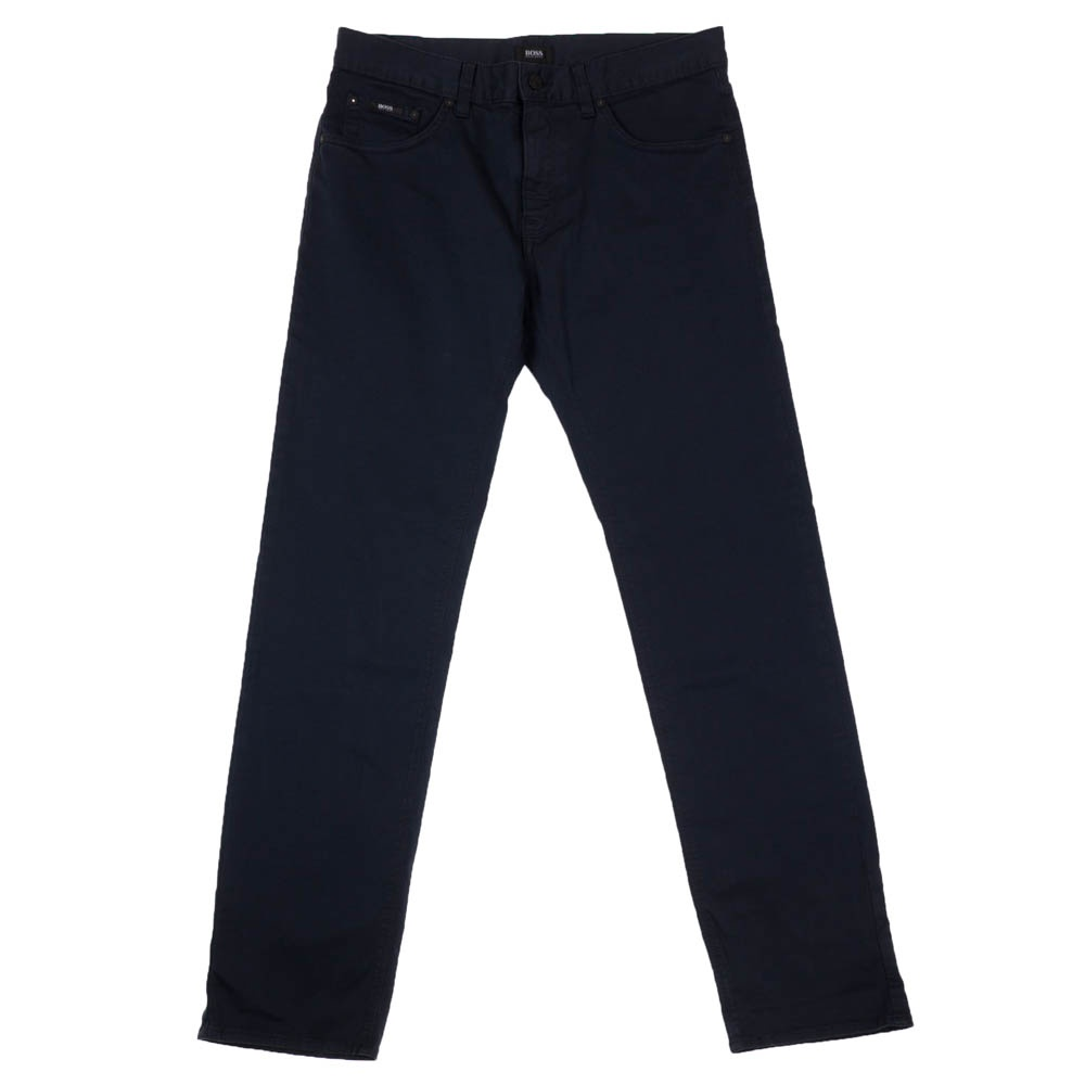 hugo boss maine 1 10 navy cotton chinos hugo boss from charles hobson uk. Black Bedroom Furniture Sets. Home Design Ideas