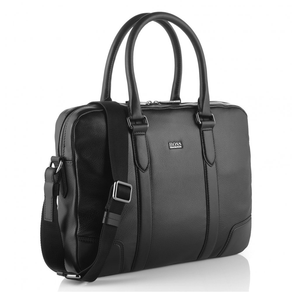 676287065 Morval All Leather Business Bag - Mens from Charles Hobson of ...