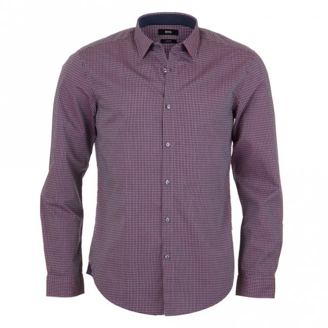 Hugo Boss Nemos 2 Shirt - Pink Check
