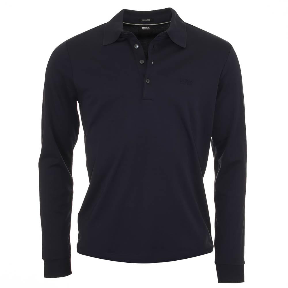 Hugo boss paderna 20 navy polo shirt hugo boss from for Hugo boss navy shirt