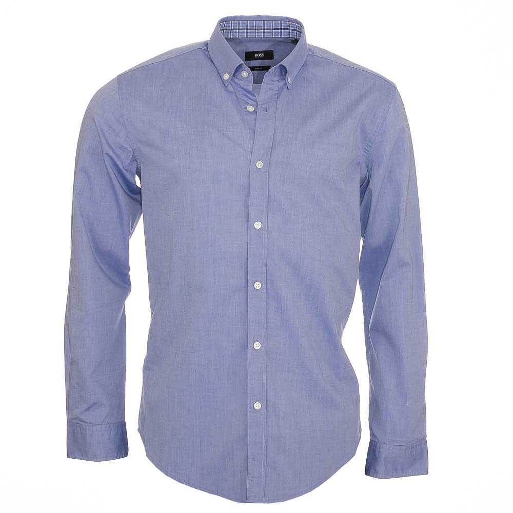 hugo boss sven 1 light blue denim shirt hugo boss from