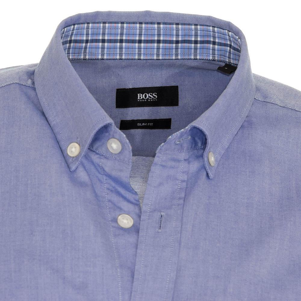 6221c2793b2 Hugo Boss Sven 1 Light Blue Denim Shirt - Hugo Boss from Charles ...
