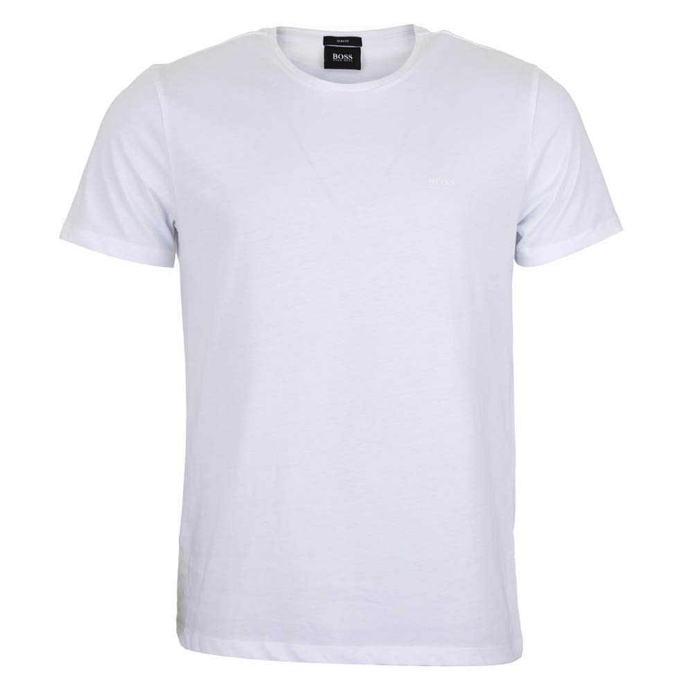 Hugo boss white t shirt slim fit hugo boss from for Hugo boss t shirts online