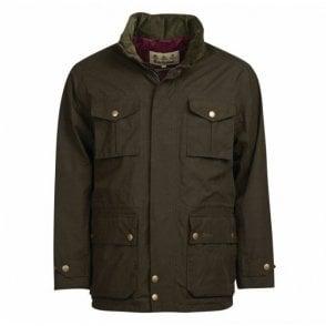 Kelso Jacket Dark Olive - Green