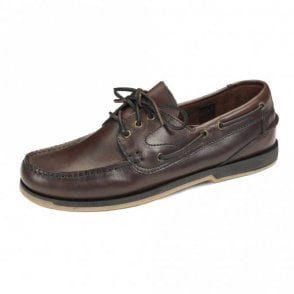 Loake Bordo Waxy Boat Shoe 521r2 - Burgandy