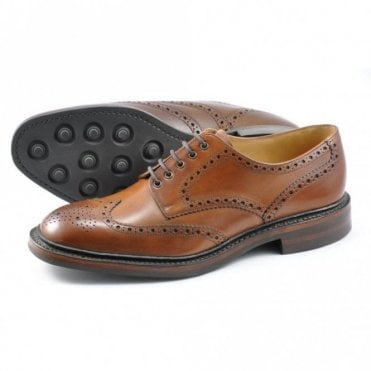 Chester Calf Brogue Dainite - Brown