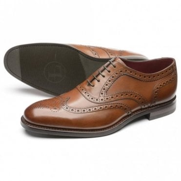 Kerridge Cedar Calf Spider Brogue - Brown
