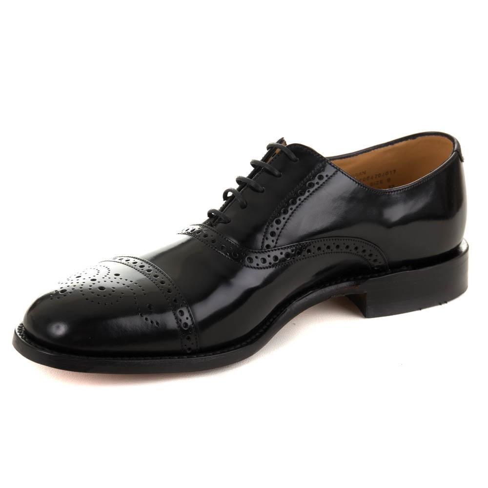 6f341ef4 Loake Oban Black Shoes   Black   Free Shipping