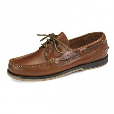Loake Tan Waxy Boat Shoe 521 T2 - Tan