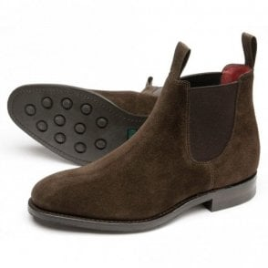 Women's Chatterley Dk Brown Suede Chelsea Boot