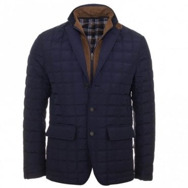 Levon Padded Coat - Blue