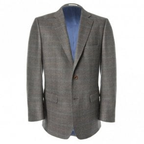 Nice T2 52698 Brown Check Jacket
