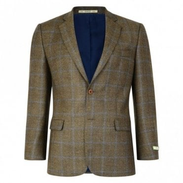 Nice T2 53234 Brown Country Check Jacket