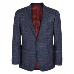 Nice T2 Navy Check Jacket 54250