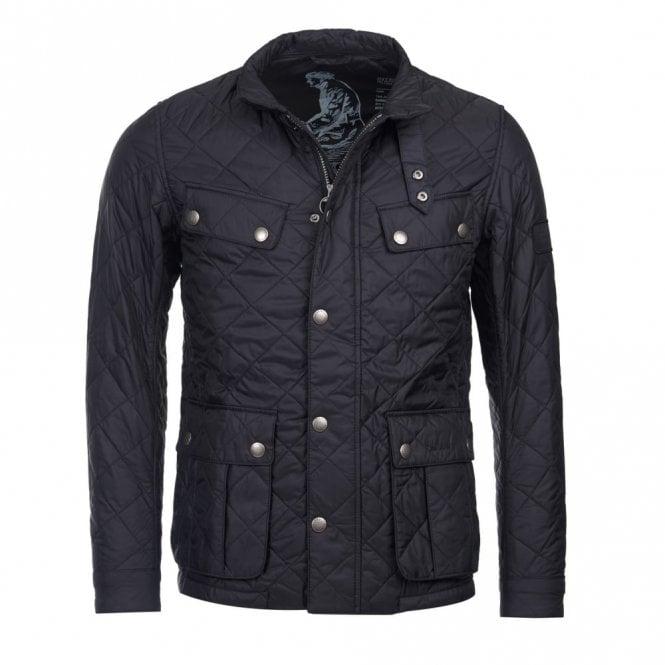 Barbour International Men's Ariel Quilted jacket - Black
