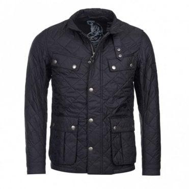 Men's Ariel Quilted jacket - Black