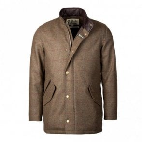 Men's Wimbrel Wool Jacket - Green Check