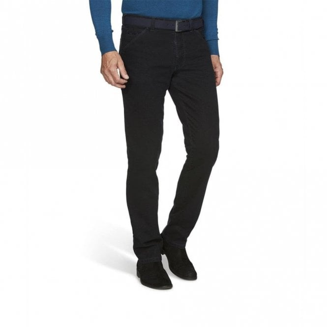 Meyer Chicago double-dyed winter chinos 2-5555/18 - Navy