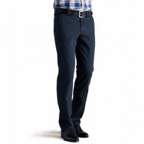 Roma denim blue chino 9-629/20 - Blue
