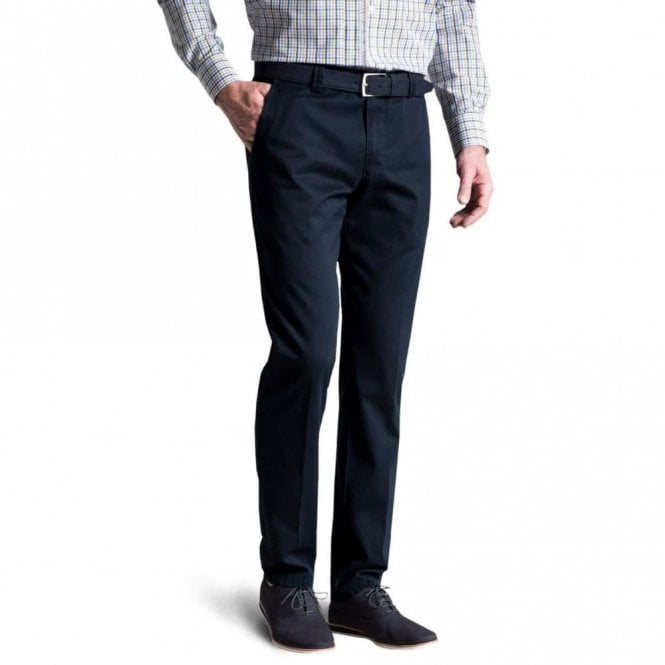 Meyer Roma stretch chino 9-3001/19 - Navy