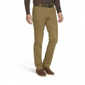 New York super stretch flammé chinos 2-5550/44 - Camel