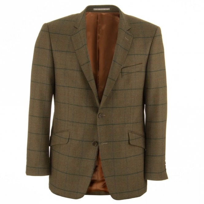 Magee Nice K2 51400 check tweed Jacket - Green