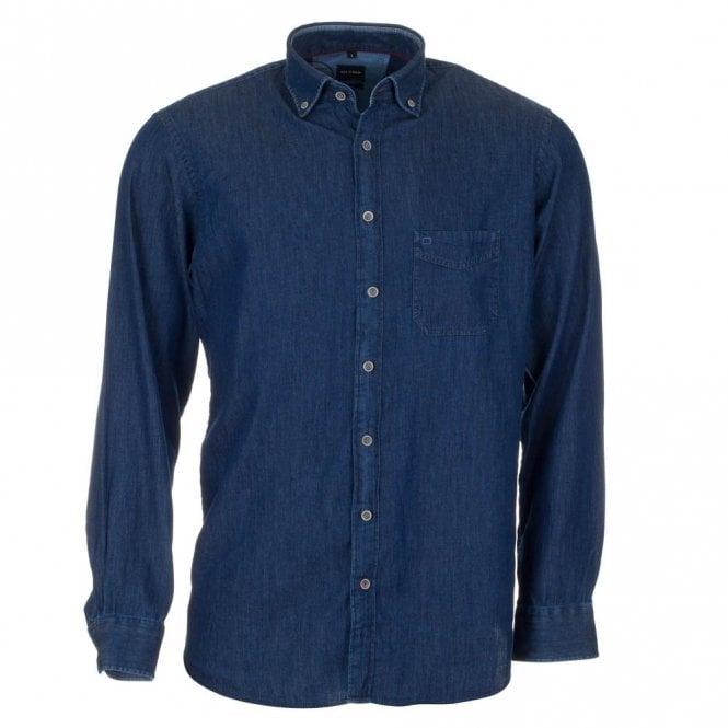 Olymp Denim Blue Shirt