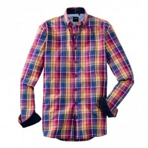 Pink/Blue Multi Check Shirt