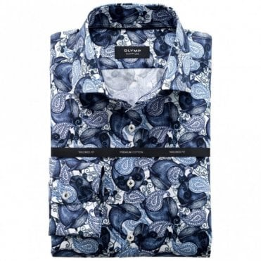 Whale Print Navy/white Shirt