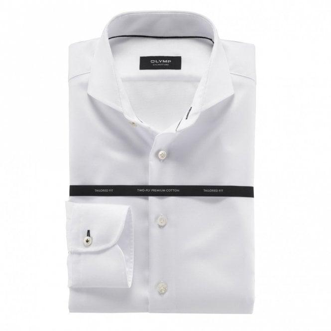 OLYMP SIGNATURE White Cutaway Collar Shirt